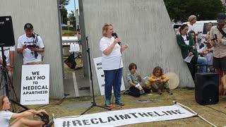#ReclaimTheLine - Meryl Dorey's speech at the NSW/QLD Border