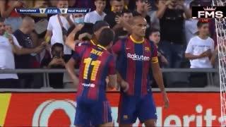 Barcelona 2-3 Real Madrid Legends.