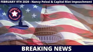 BREAKING NEWS | Nancy Pelosi & Capitol Riot Impeachment