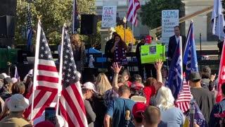 StopTheSteal _ California State Capitol Protest Sacramento, CA Week 4 November 28, 2020 IMG 2808