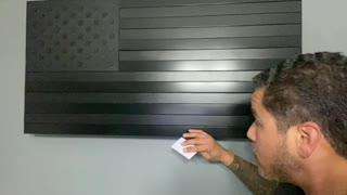 Black Falcon Concealment Flags