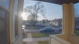 Doorbell Camera Captures Scary Scene in Chicago