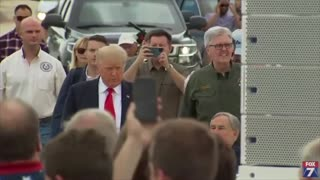 President Trump Is Back At The Border.