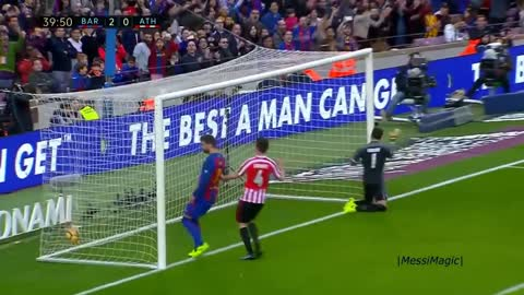 Only Messi Can Score Such Array of Insane Goals in just 1 Season