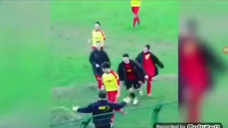 Soccer/football related funny video