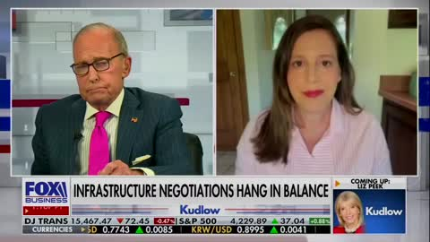 Elise Stefanik joins Larry Kudlow to discuss the Biden tax & spend policies destroying our economy.