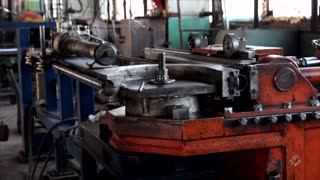 cnc pipe bender operation