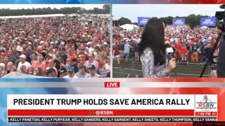 Mike Lindell Interview @ The Trump Rally / 8-21-21 RSBN LIVE