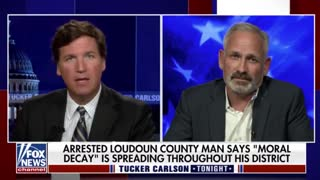 Tucker Speaks With Parent Arrested for Speaking Out Against Critical Race Theory ..!!