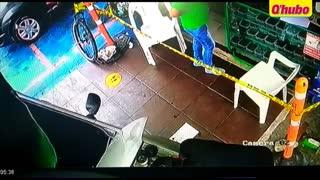 En video quedó registrado el ataque contra un hombre en Bucaramanga