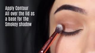 Beginners Smokey Eye Makeup Tutorial | Parts of the Eye