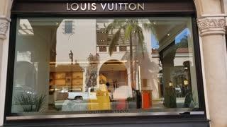 Louis Vuitton storefront - West Palm Beach, Florida
