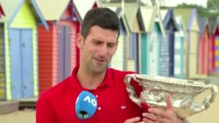 Djokovic reflects on 'sweet' Open victory