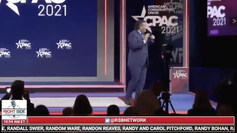 Ted Cruz's Surprise Opening CPAC Line Brings the Entire House DOWN