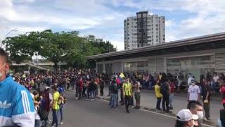 Protesta en Provenza, Bucaramanga, Santander