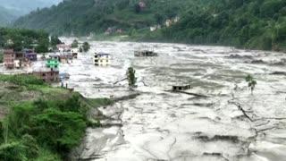 Seven go missing in Nepal flash floods