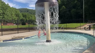 Green Mountain RV Resort Splash Pad