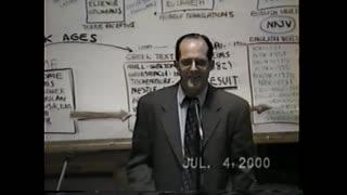 Dr Peter S. Ruckman; The King James Bible Pt.1
