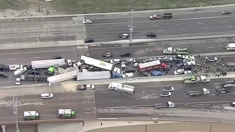 100 Car Pile Up Fort Worth Texas
