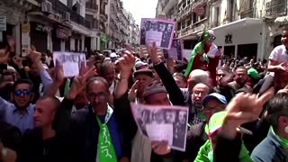Algerians march in capital for political change