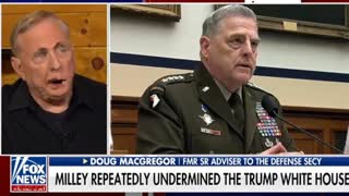 Former adviser to the defense secretary discusses potential traitor Milley