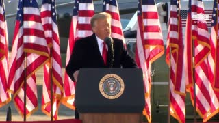 """President Donald J. Trump Departure Ceremony """"We'll be back!"""""""