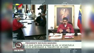 """Maduro llama a la oposición a un """"cese el fuego"""" y un acuerdo humanitario"""