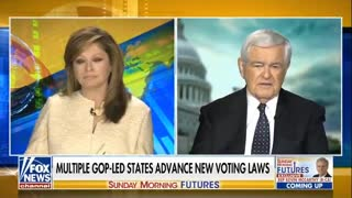 Newt Gingrich -- Swing states stolen from Trump.