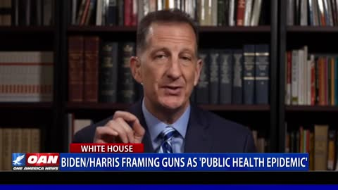 Biden/Harris framing guns as 'public health epidemic'