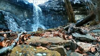 Hadlock Cascade Falls - Arkansas [Jan. 2021]