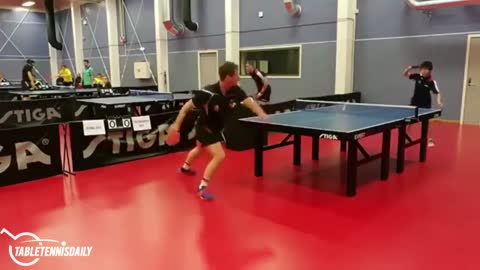 Amazing Ping-Pong Play