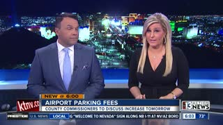 County to discuss possible parking price increase at McCarran Airport