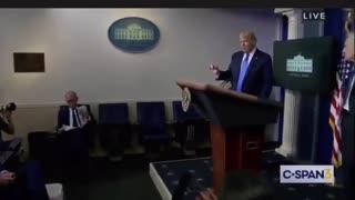 Donald Trump takes Emergency phone call