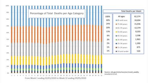 COVID-19 Death Statistics (In 20 Minutes)