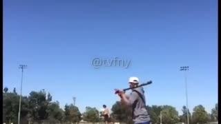 Breaking a baseball record