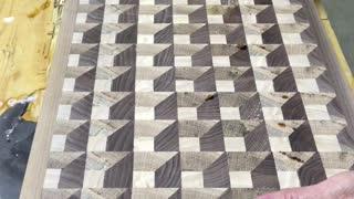 3-D cutting board