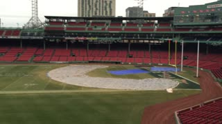 Notre Dame Fenway Park from the Green Monster