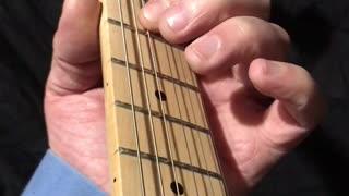 Guitar Theory - Minor Pentatonic - House Of The Rising Sun
