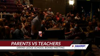Parents Vs. Teachers Grand Ledge School Board Meeting