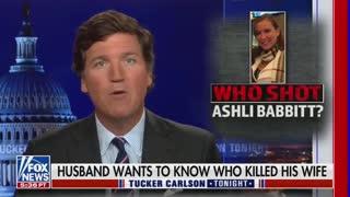 Ashli Babbit's Husband Speaks Out On Tucker Carlson Tonight