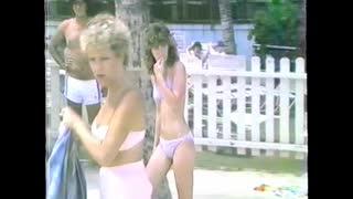 Cruising Waikiki Beach 1984