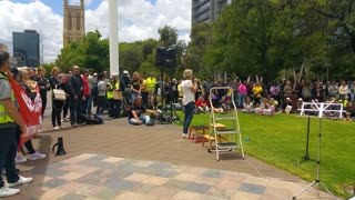 Adelaide Freedom Day Rally Dec 2020