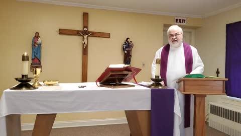 Lenten Weekday Mass on February 25, 2021