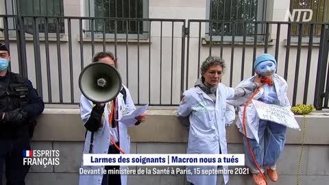 JT Citoyen du 16 sept 2021 : Larmes des soignants