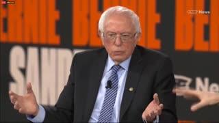 Bernie Sanders Says He Will 'Look at' Tearing Down Existing Border Walls