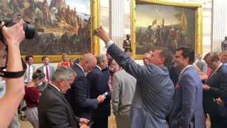 House Republicans protest the House chamber's mask mandate