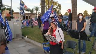 Southern California Trump Rally @ La Habra (11-29-2020)