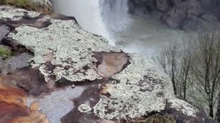 Beautiful waterfall on Noccalula