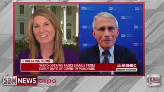 Fauci Gets Gobbled Up By Nicole Wallace on MSNBC - 1821