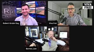 Sidebar with Robert Gruler Esq. & Robert Barnes - Viva Live
